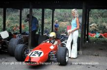 Brabham BT21 Buick. Photo. Peter Boshier-Jones. Shelsley Walsh Hillclimb 1974 (a)